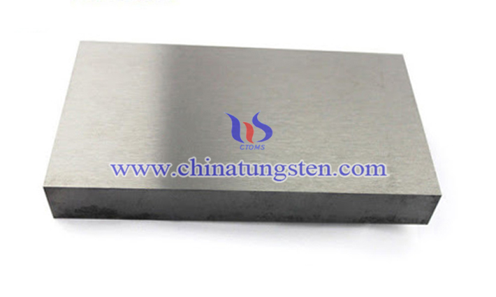 high density tungsten alloy block picture
