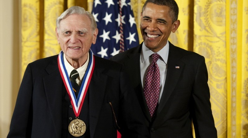 lithium ion inventor with Barrack Obama image
