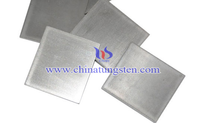 tungsten heavy alloy plate picture