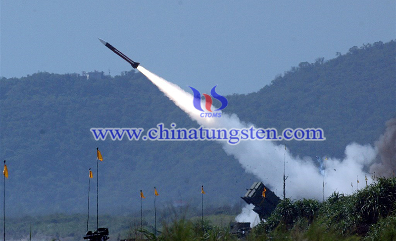 A patriot surface-to-air missile is fired image