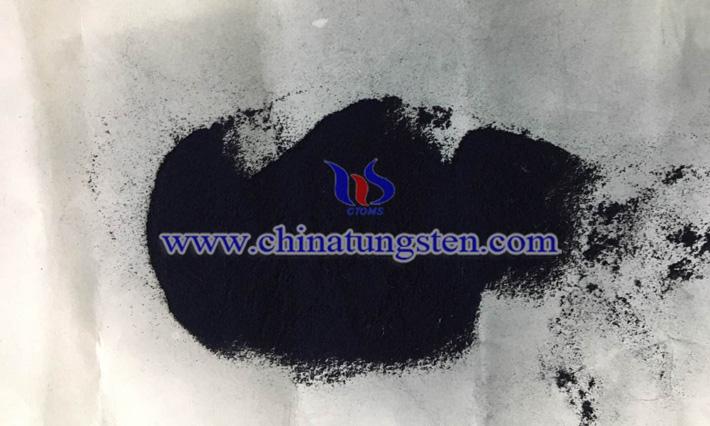 violet tungsten oxide photo