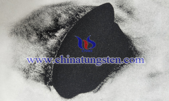blue tungsten oxide image