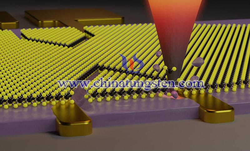 researchers cut nanometer-sized patterns into 2D materials image