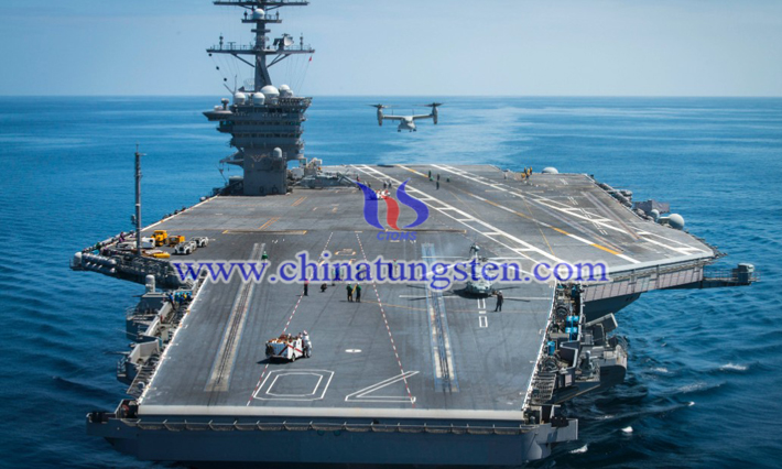 tungsten alloy aircraft carrier flight deck image
