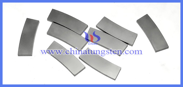 tungsten carbide fan-shaped blade picture
