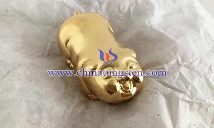 鍍金鎢金豬圖片