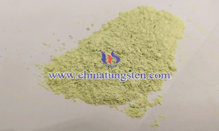 ultrafine yellow tungsten oxide powder image