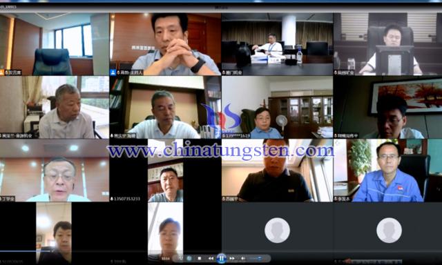 中国钨业协会六届二十一次主席团(视频)会议