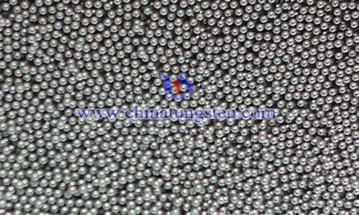 military industry used ground tungsten alloy ball image