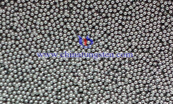 军用钨合金磨光球图片