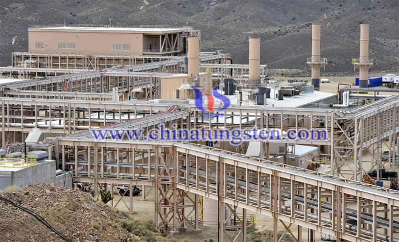 rare earth processing buildings image