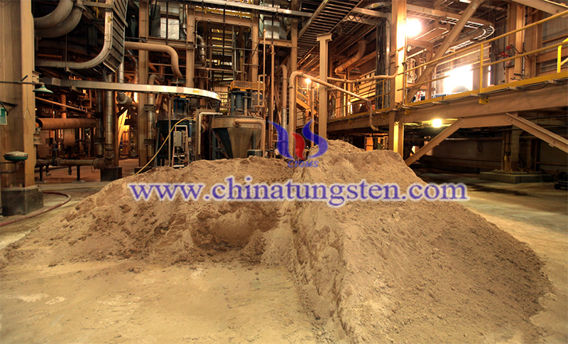 rare earth processing plant image