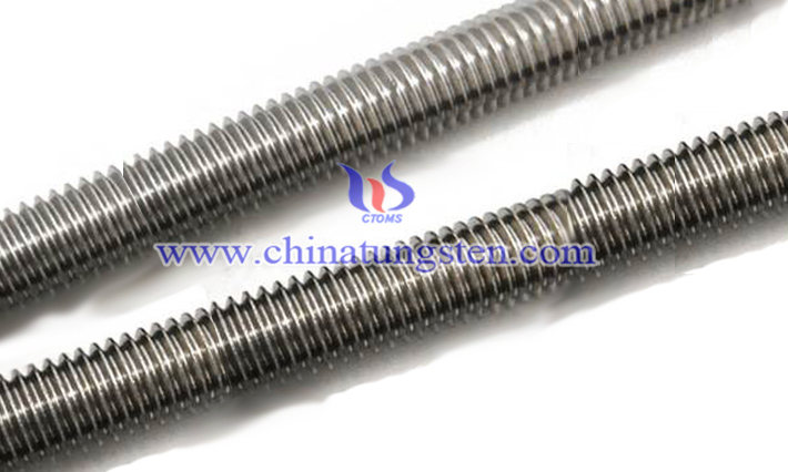 tungsten alloy bolt image