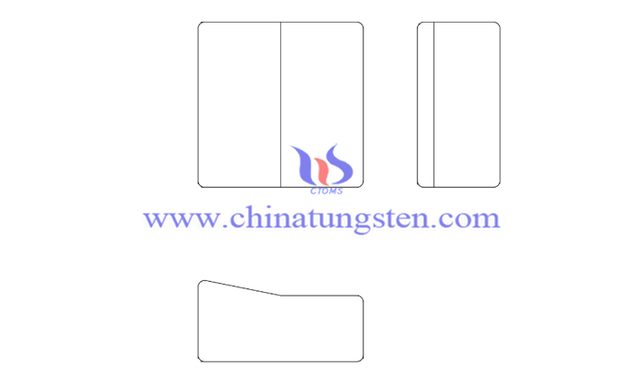 tungsten alloy bucking bar picture