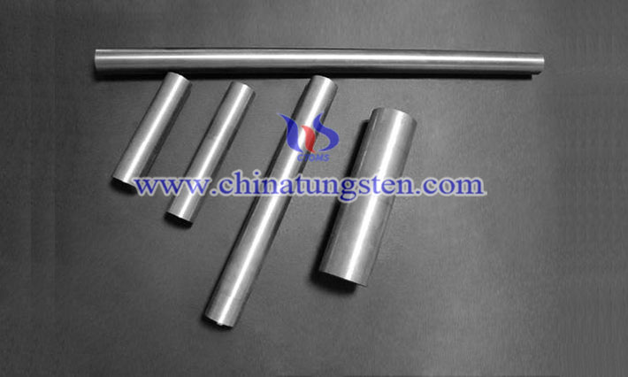 military industry used tungsten alloy forging rod image