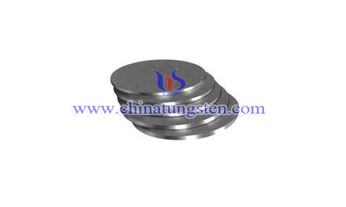 tungsten copper disc image