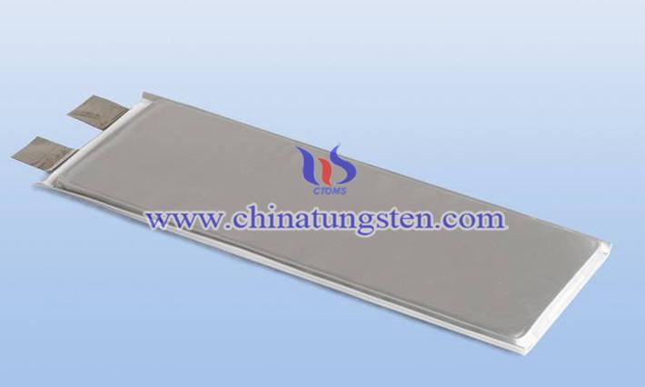 低温锂电池正极掺二硫化钨图片