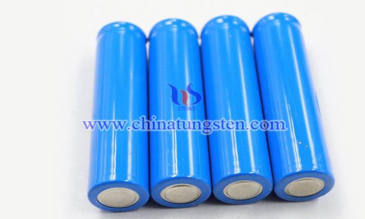 圓柱電池圖片