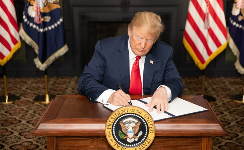Trump signs new order to spur rare earths mining image