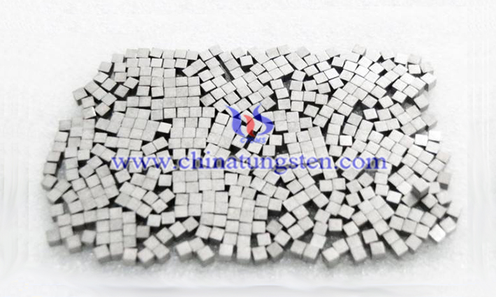 military industry used tungsten alloy cube image