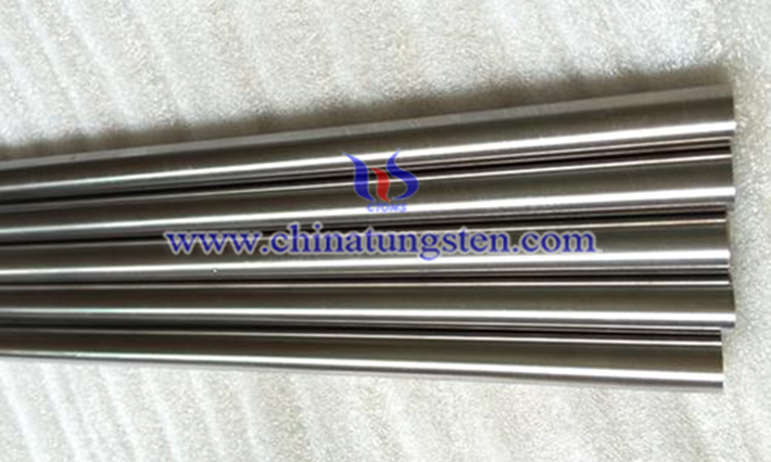 tungsten alloy forging rod image