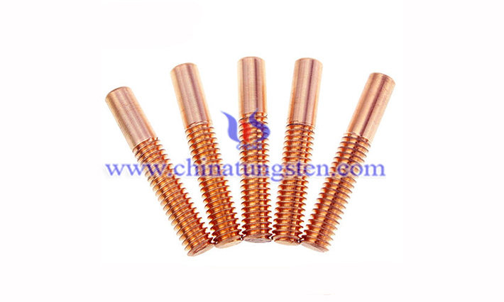tungsten copper bolt image
