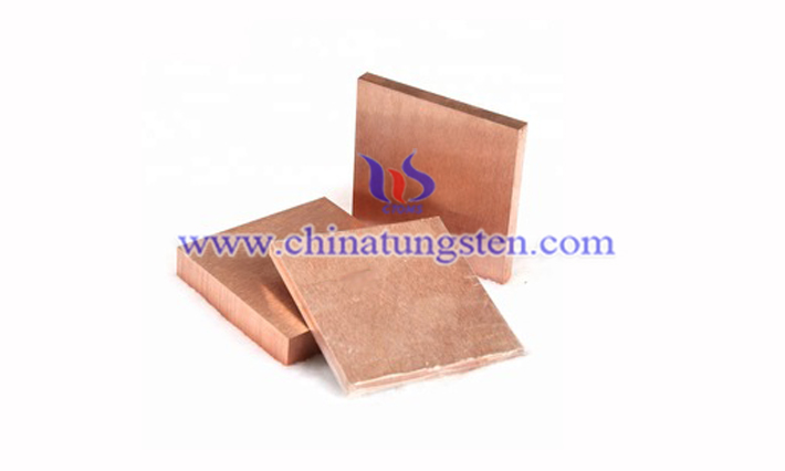 tungsten copper plate image