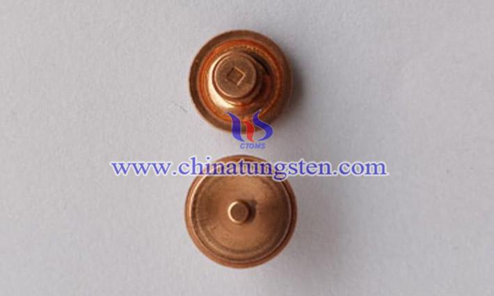 鎢銅電極用於電火花圖片