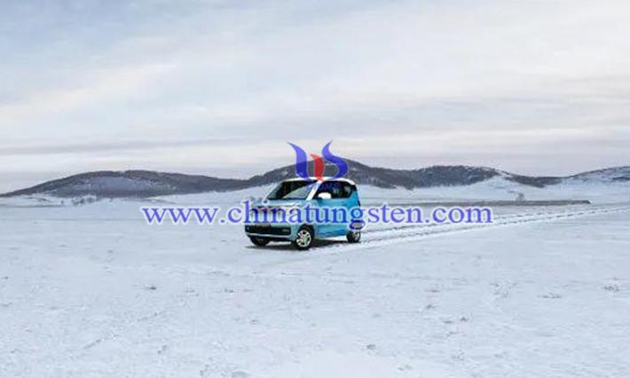 冬季锂电池负极用WS2纳米片图片