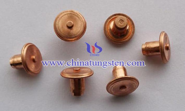 新型細晶鎢銅電極的生產圖片