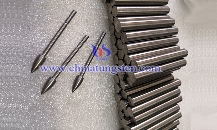 military used tungsten alloy rod image