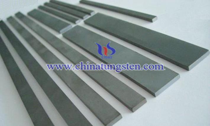 tungsten alloy bar image