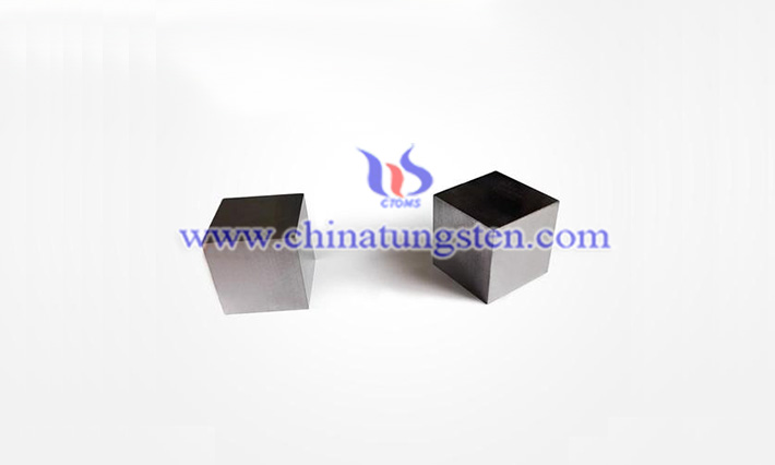 military used tungsten alloy cube image