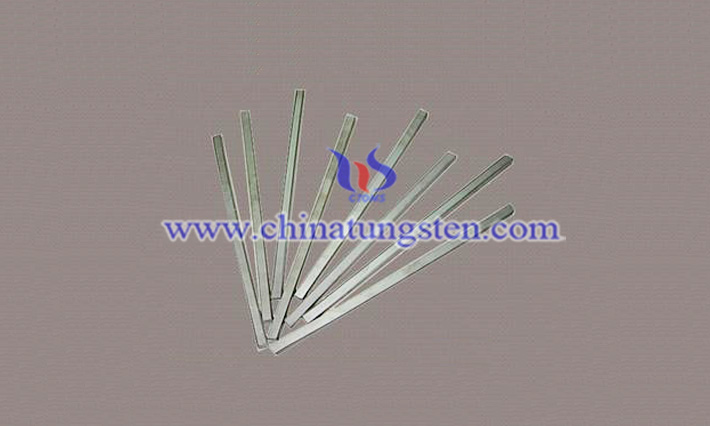 steel making used tungsten bar image