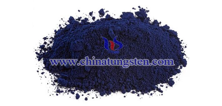 violet tungsten oxide image
