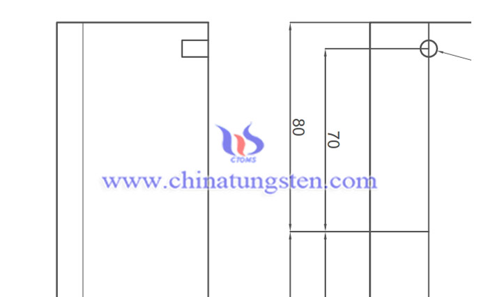 tungsten alloy customized part image