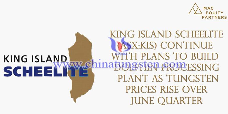 Australian King Island Scheelite Limited image