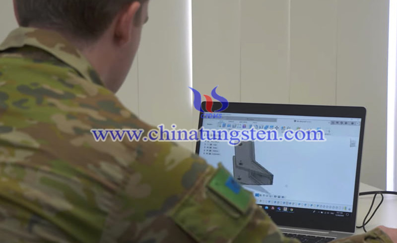 print stainless-steel parts in remote areas including defense site image
