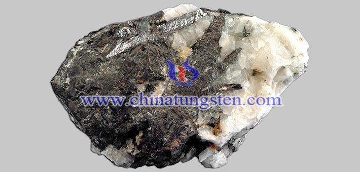 black tungsten concentrate image