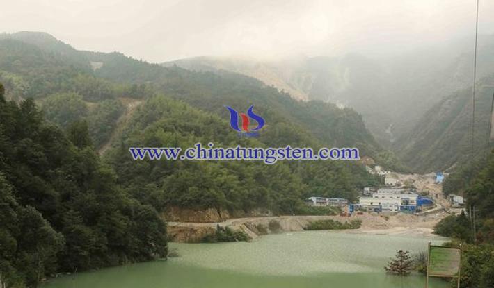 Dahutang tungsten mine Wuning Jiangxi picture