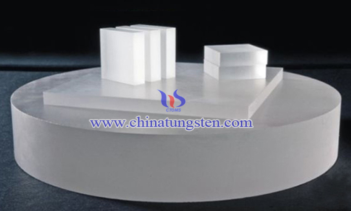 artificial sapphire single crystal picture
