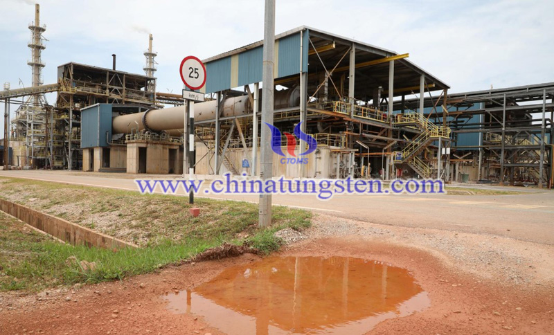 factory view of Lynas Advanced Materials Plant in Malaysia image