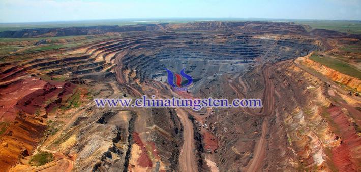 ionic medium heavy rare earth mine picture