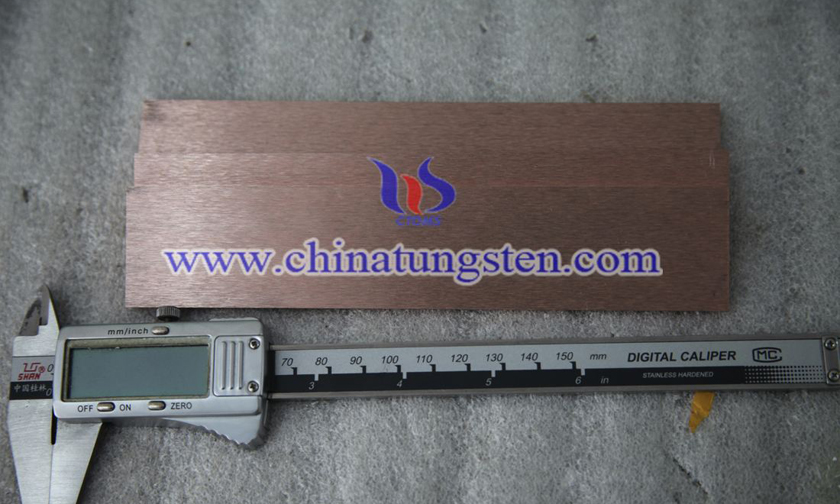 tungsten copper polished plate picture