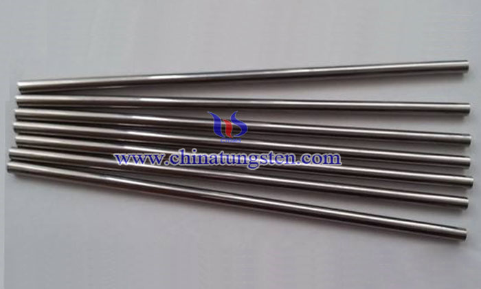 tungsten silver rod picture