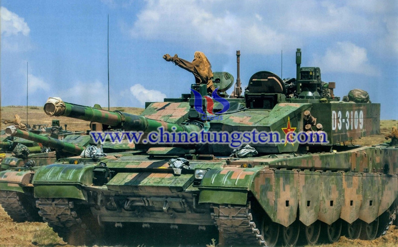 the Chinese type 99A2 main battle tank image