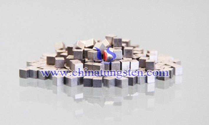 tungsten alloy cube image