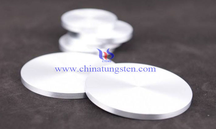 tungsten copper disc picture