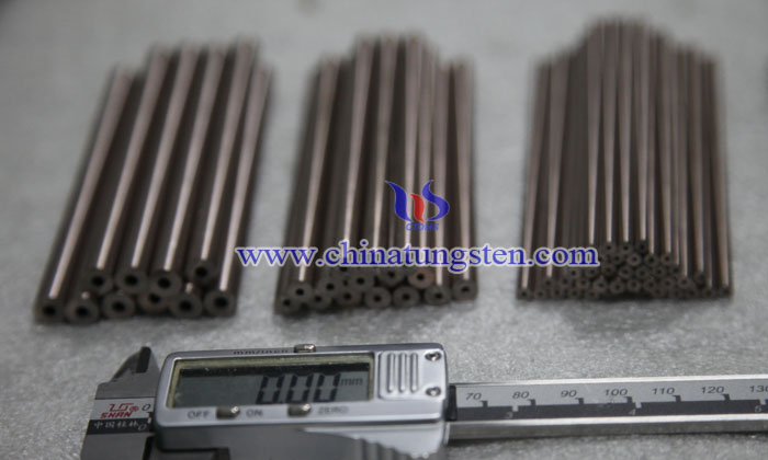 tungsten copper tube picture