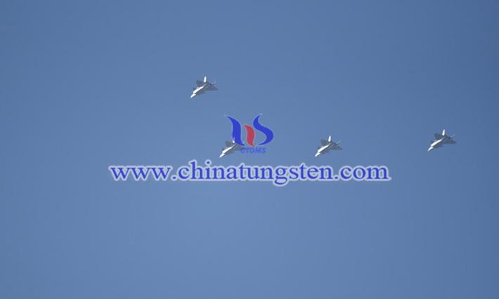 4架歼-20亮相珠海金湾机场图片